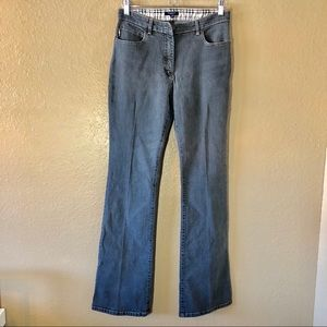 BURBERRY LONDON Gray Bootcut Jeans